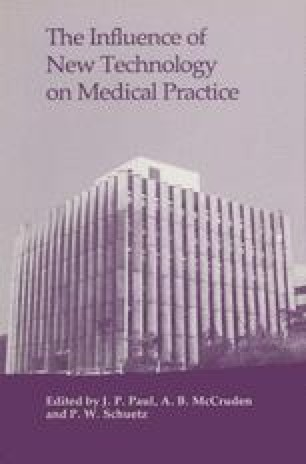 The Influence of New Technology on Medical Practice