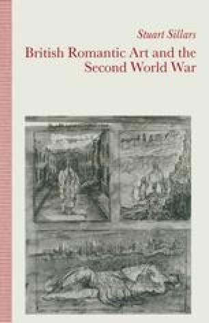 British Romantic Art and the Second World War