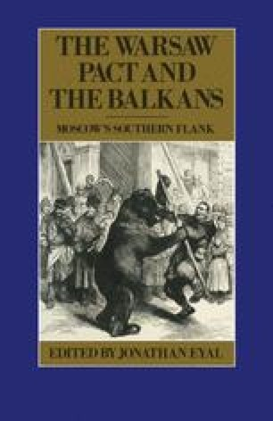 The Warsaw Pact and the Balkans