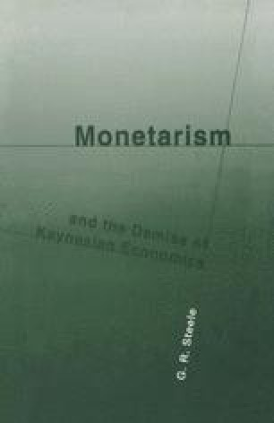 Monetarism and the Demise of Keynesian Economics