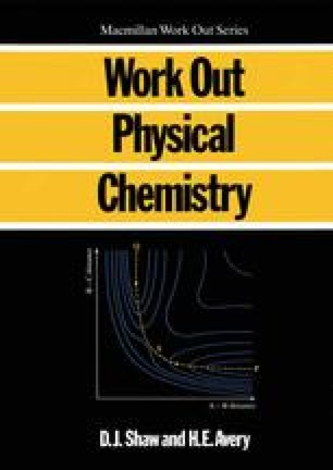 Work Out Physical Chemistry