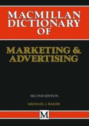 Macmillan Dictionary of Marketing and Advertising