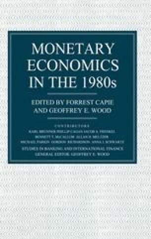Monetary Economics in the 1980s
