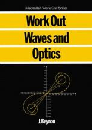 Work Out Waves and Optics