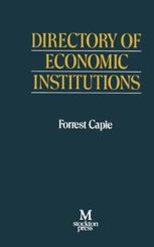 Directory of Economic Institutions