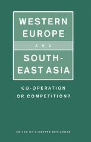 Western Europe and South-East Asia