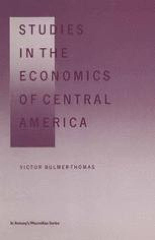 Studies in the Economics of Central America