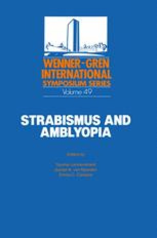Strabismus and Amblyopia
