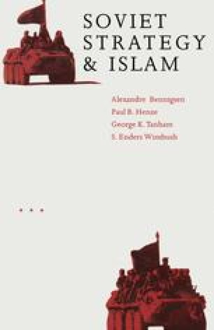 Soviet Strategy and Islam