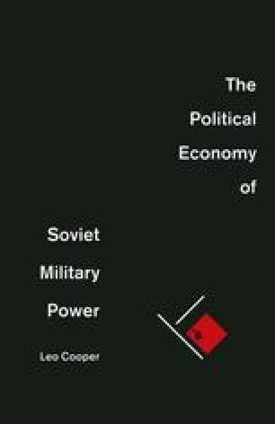 The Political Economy of Soviet Military Power