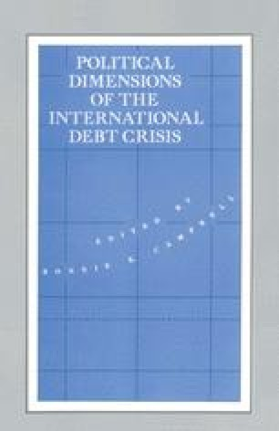 Political Dimensions of the International Debt Crisis