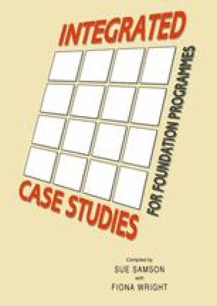 Integrated Case Studies for Foundation Programmes