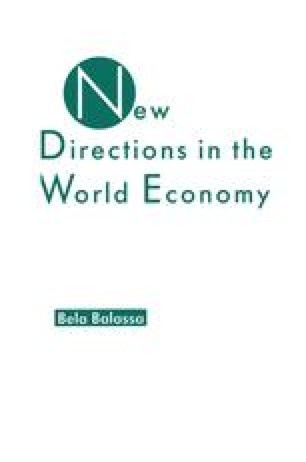 New Directions in the World Economy