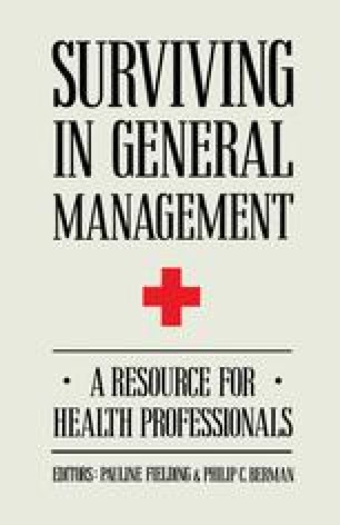 Surviving in General Management