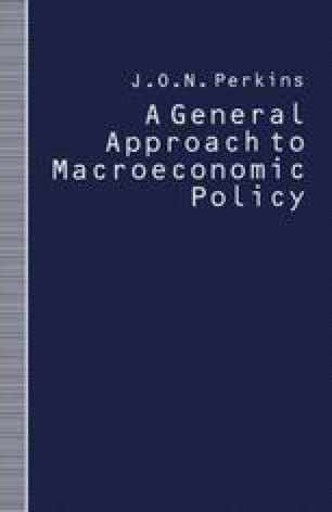 A General Approach to Macroeconomic Policy