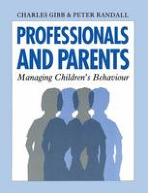 Professionals and Parents