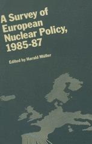 A Survey of European Nuclear Policy, 1985–87