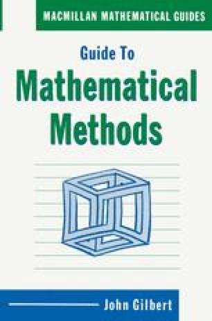 Guide to Mathematical Methods