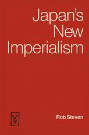 Japan's New Imperialism