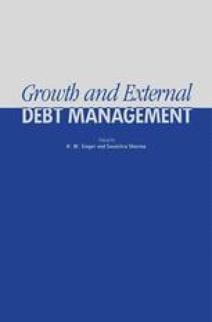 Growth and External Debt Management