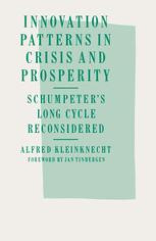 Innovation Patterns in Crisis and Prosperity