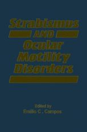 Strabismus and Ocular Motility Disorders