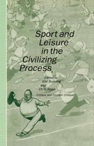 Towards A Sociological Theory Of Sport And The Emotions A Process