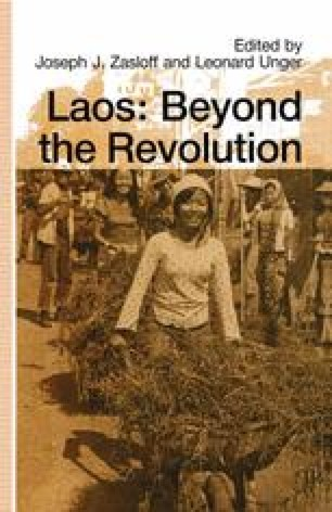 Laos: Beyond the Revolution