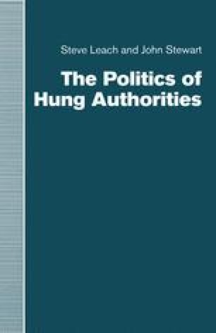 The Politics of Hung Authorities
