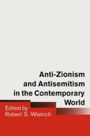 Anti-Zionism and Antisemitism in the Contemporary World