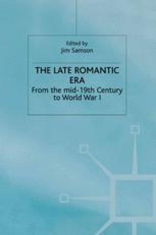 The Late Romantic Era