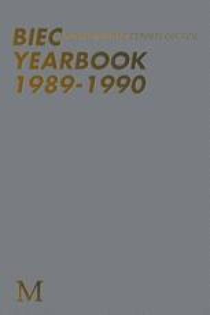 BIEC Yearbook 1989–1990