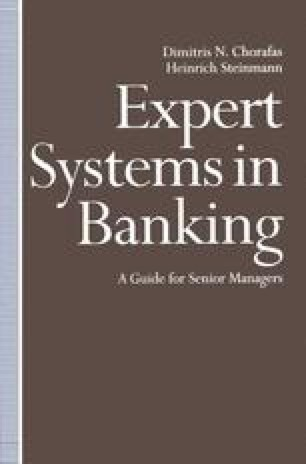 Expert Systems in Banking