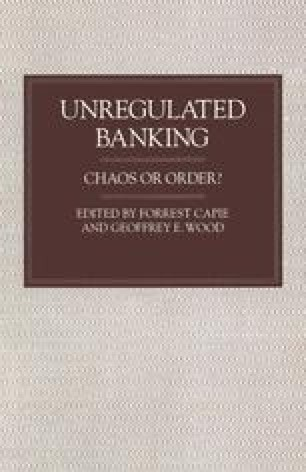 Unregulated Banking