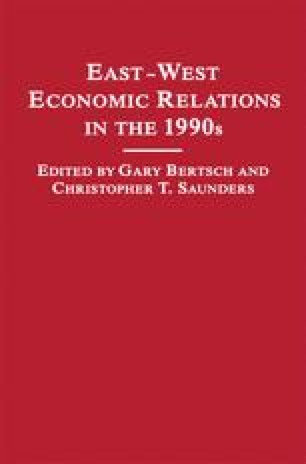 East-West Economic Relations in the 1990s