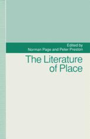The Literature of Place