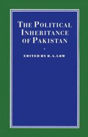The Political Inheritance of Pakistan