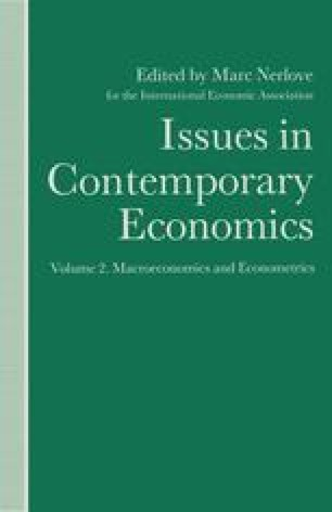 Issues in Contemporary Economics