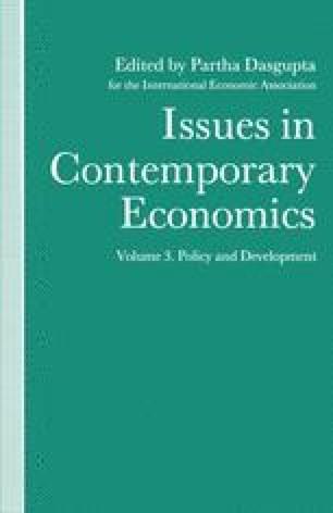 Issues in Contemporary Economics