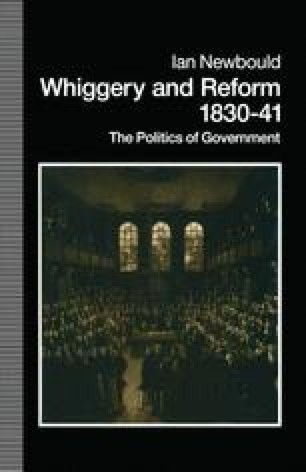 Whiggery and Reform, 1830–41