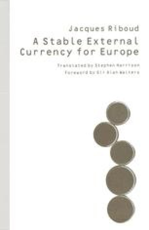 A Stable External Currency for Europe