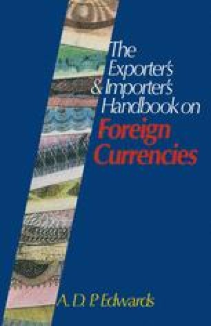The Exporter's & Importer's Handbook on Foreign Currencies