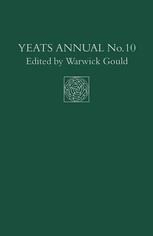 Yeats Annual No. 10