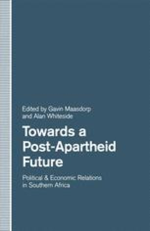 Towards a Post-Apartheid Future