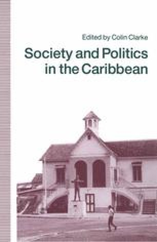Society and Politics in the Caribbean