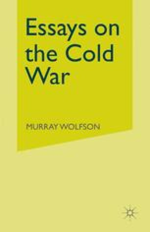 Essays on the Cold War