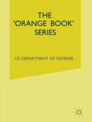 The 'Orange Book' Series