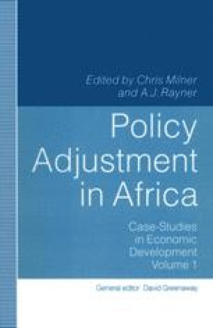 Policy Adjustment in Africa