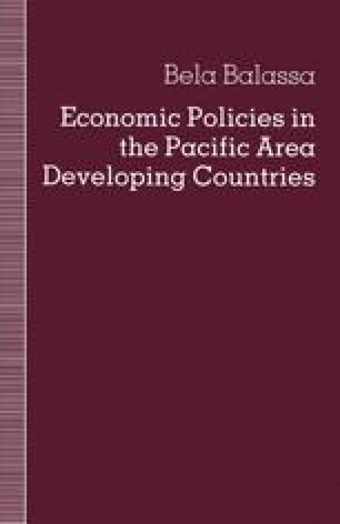 Economic Policies in the Pacific Area Developing Countries