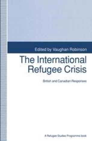 The International Refugee Crisis